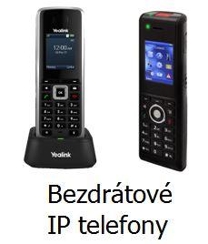 Bezdrátové IP telefony