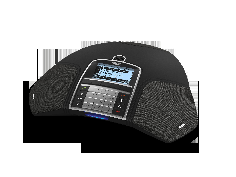 "SNOM Meeting Point IP audiok. tel., PoE, 3"" 128x64 LCD, HW klávesnice"