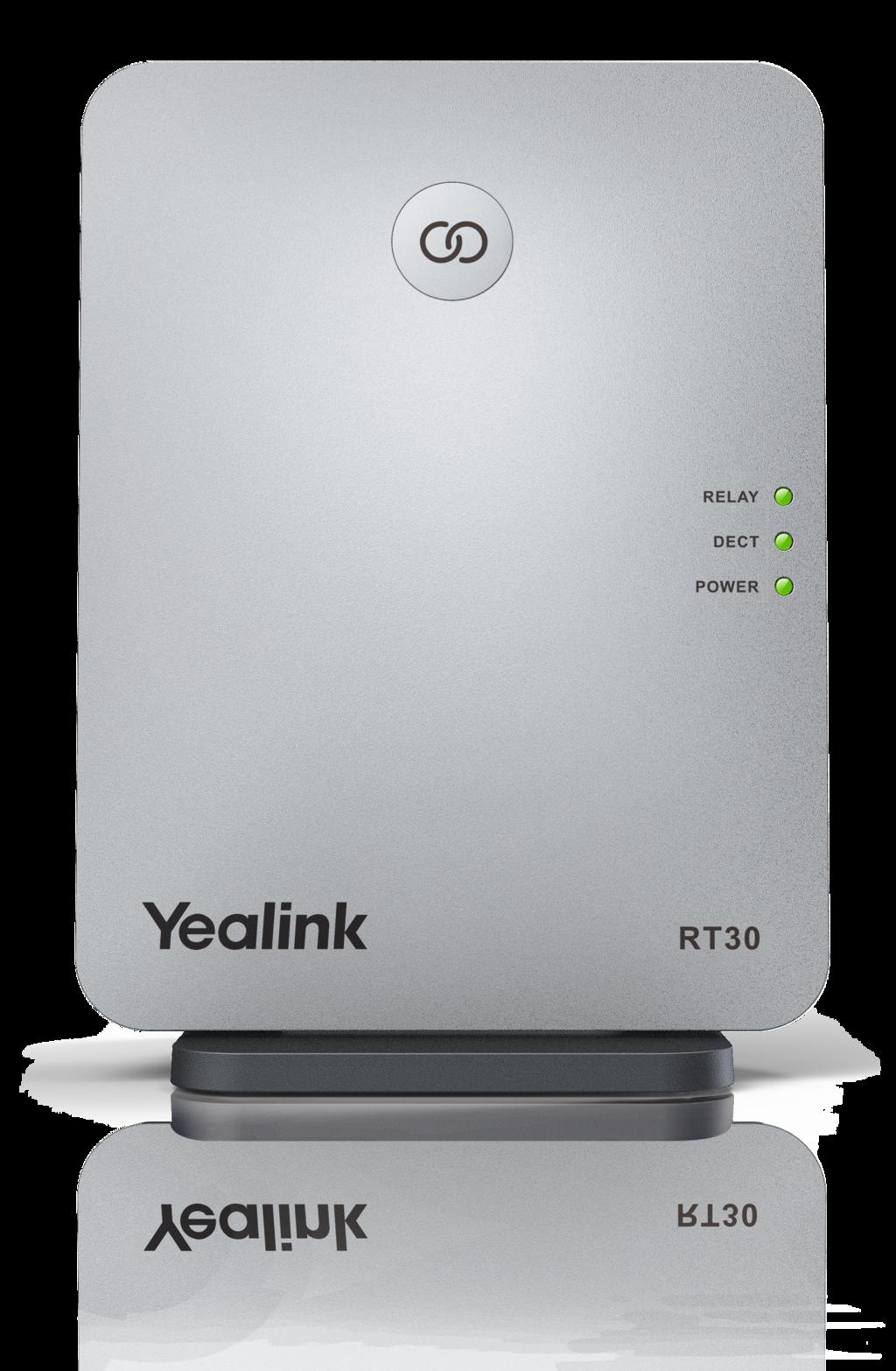 Yealink RT30 DECT repeater k W52P/W56P/W60B, 2 souběžné hovory
