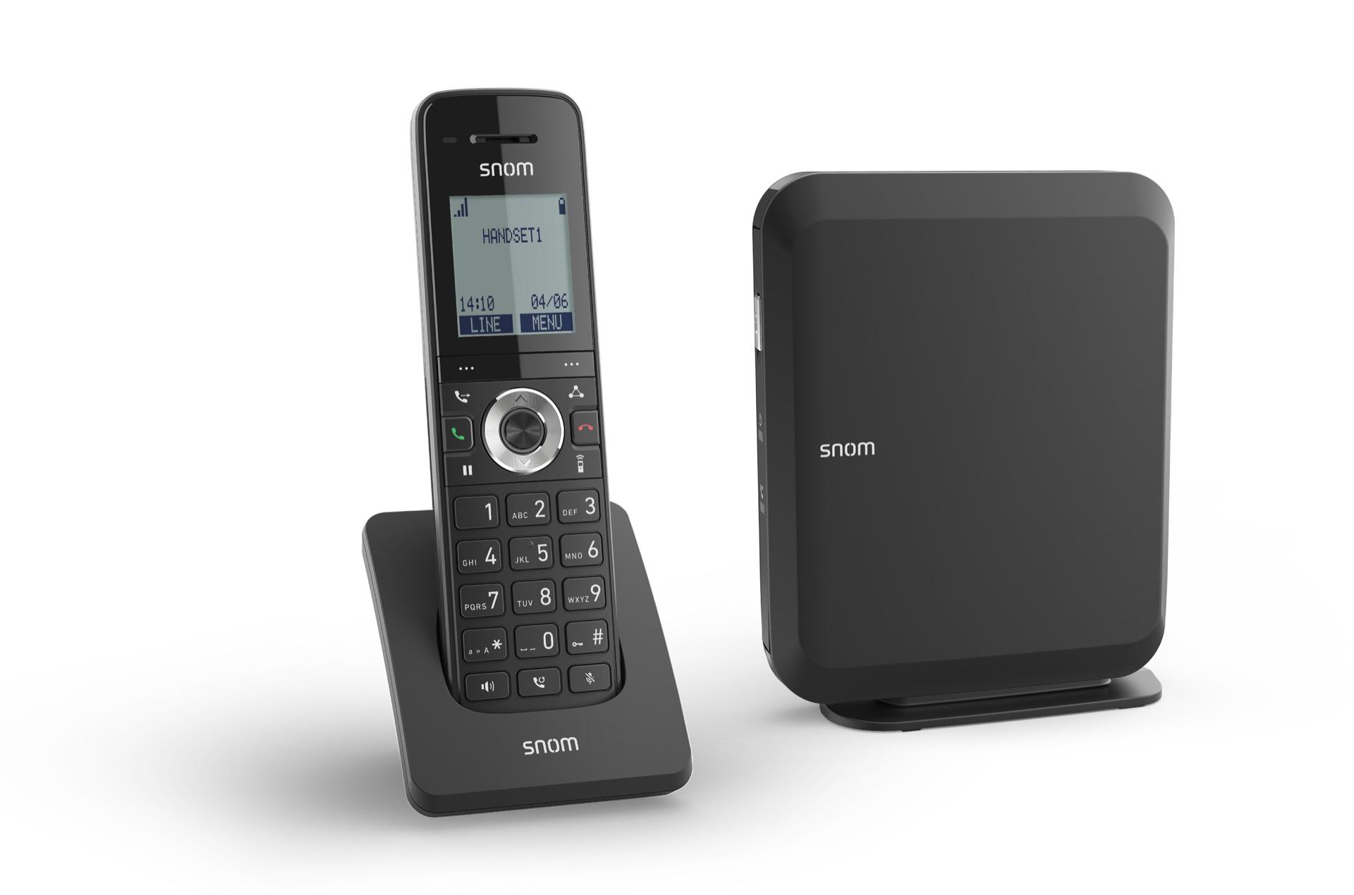 bezdrátový DECT telefon Snom M215 SC