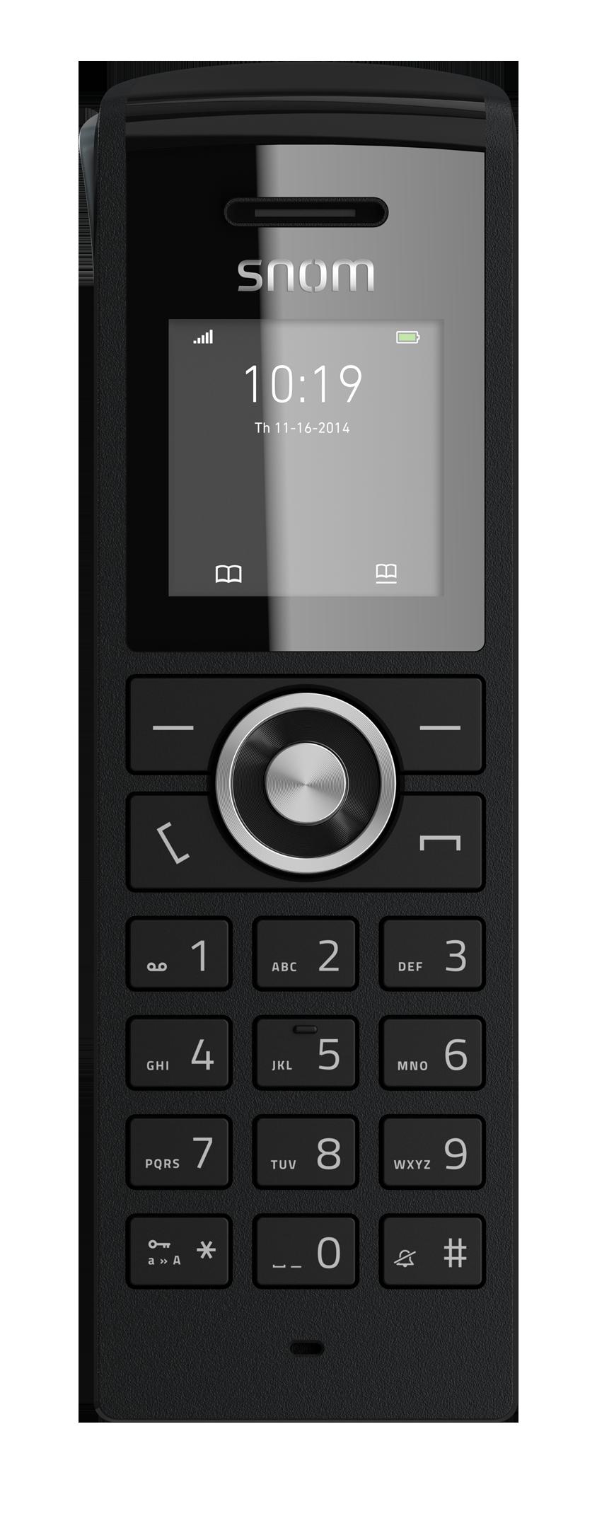 """SNOM M25 IP DECT ručka pro M300, 1,44"""" LCD"""