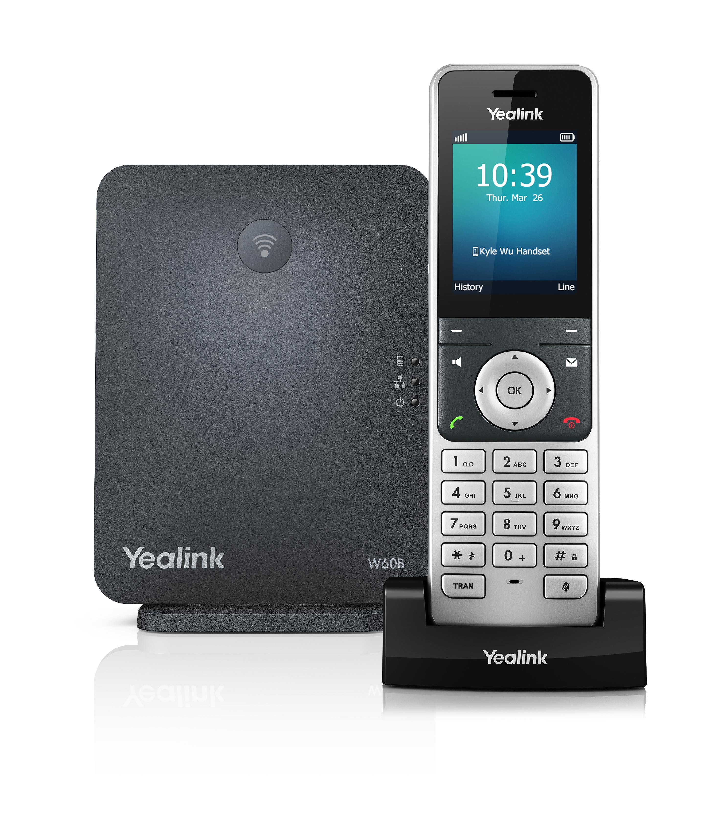 Bezdrátové řešení Yealink W60P
