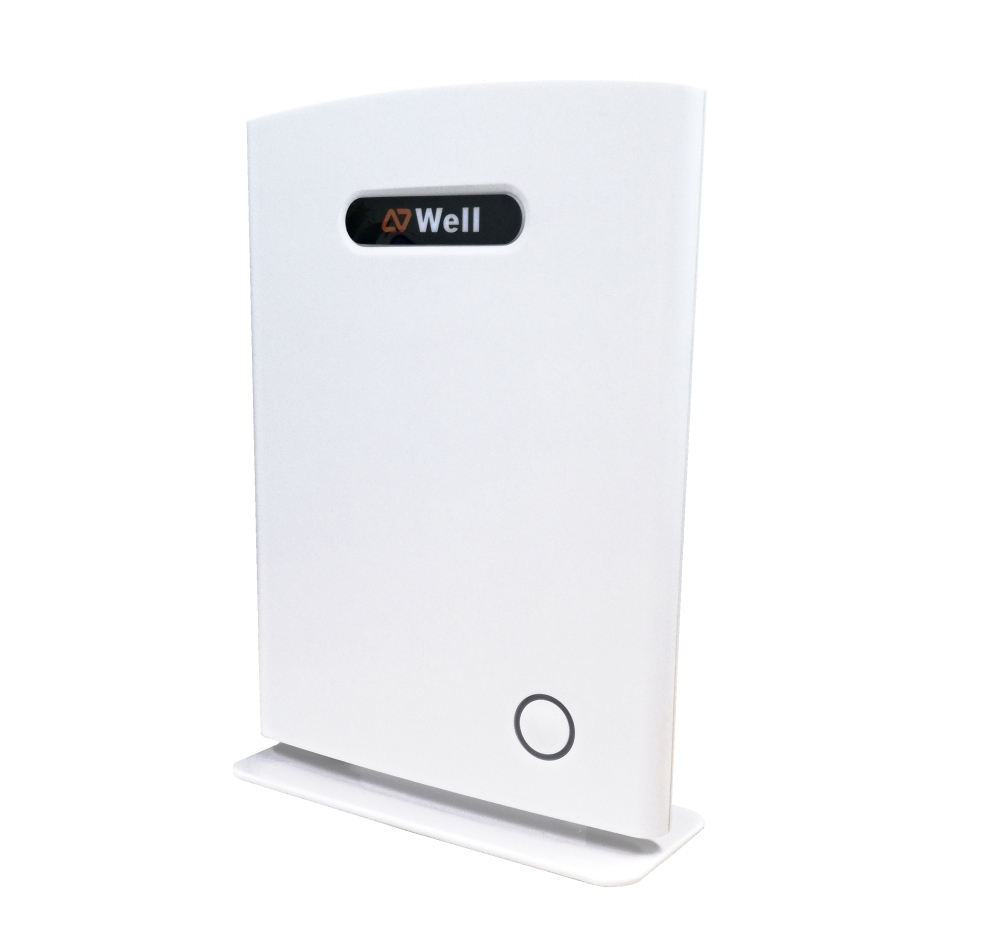 WELL RTX8660 IP DECT báze, bílá, PoE, buňkové řešení, až 1000 ruček