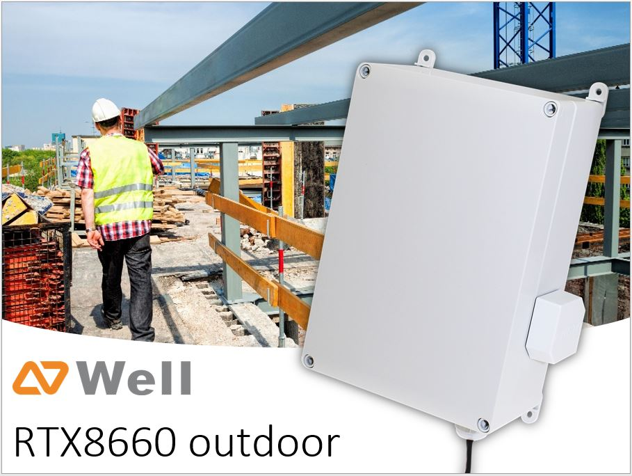 Signál kdekoliv potřebujete - je tu outdoor základna WELL RTX!