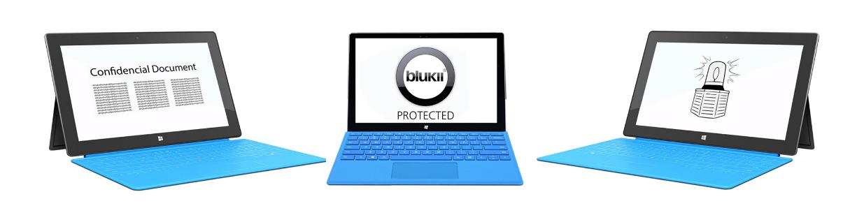blukii zabezpečení počítače