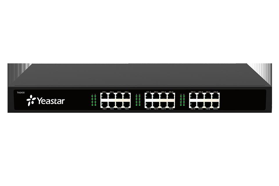 Yeastar NeoGate TA2400,24 portová FXS brána,1xRJ21,1xLAN,rack provedení