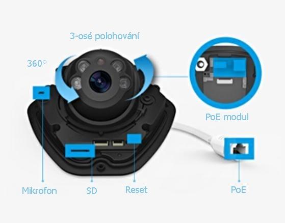 Kamery Milesight mají jednoduchou instalaci i ovládání