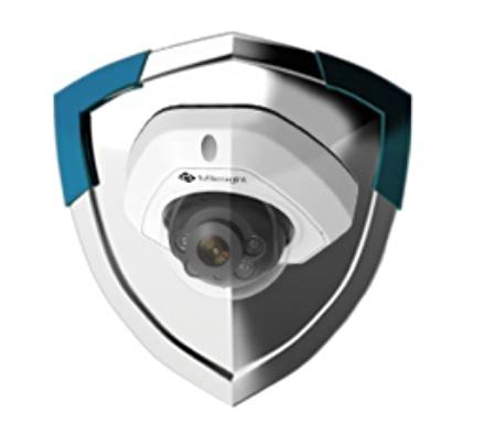 Antivandal kamera Milesight s krytím IK08