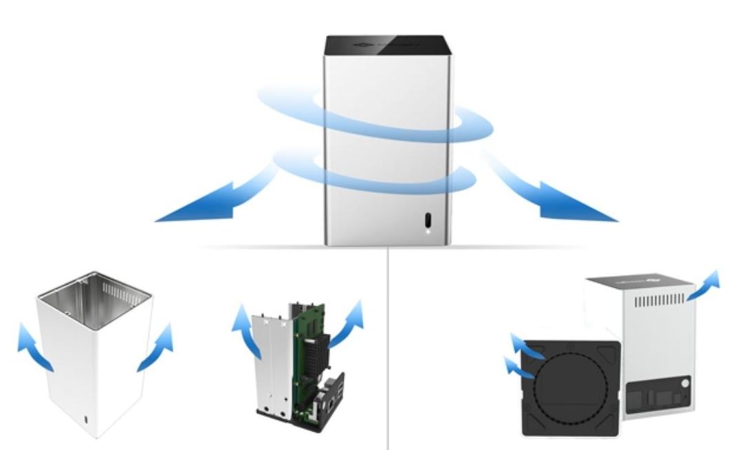 Revoluční systém chlazení Well Milesight MS-N1009-UT