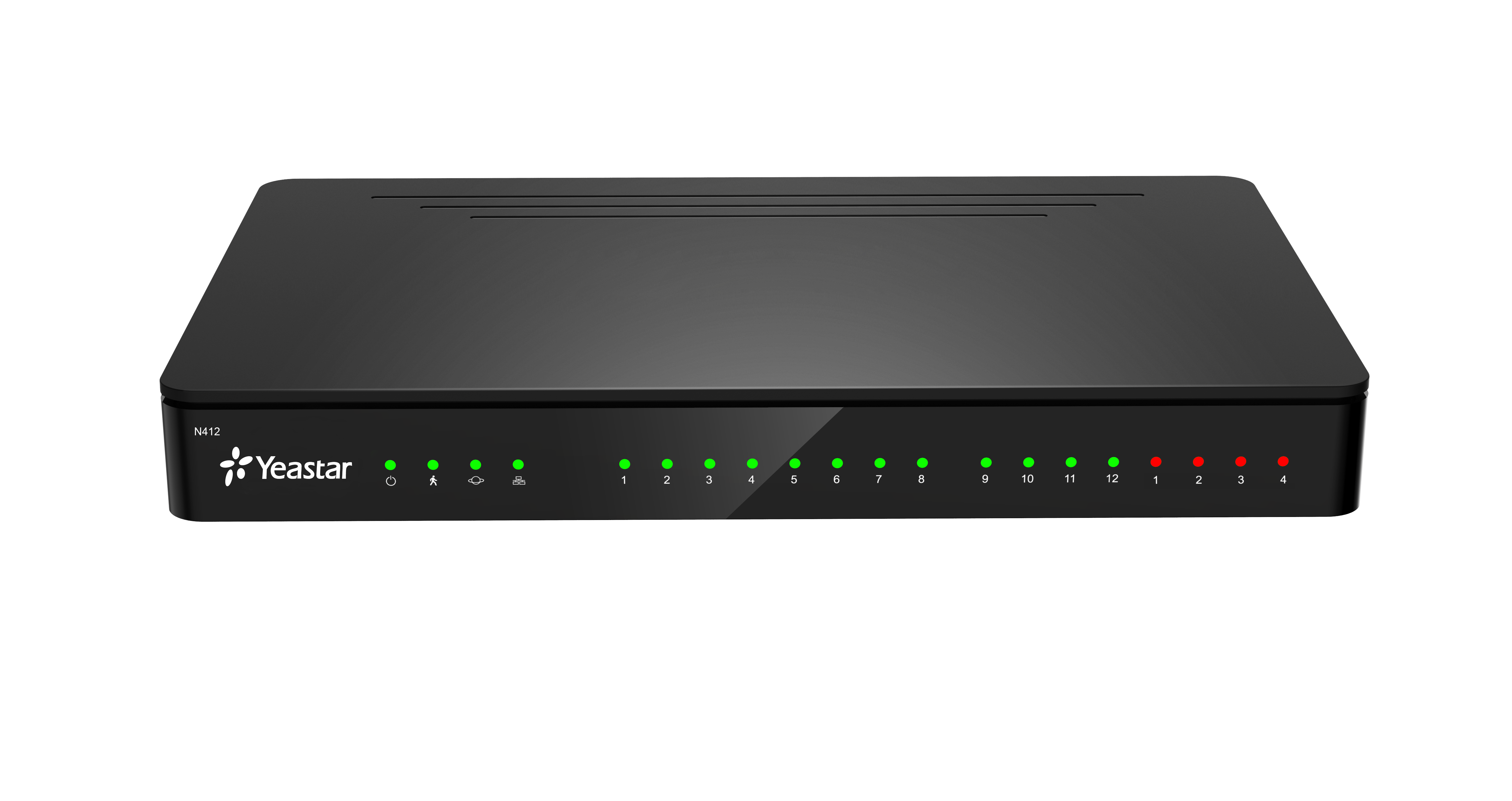 Yeastar Smart PBX N412 základní konfigurace