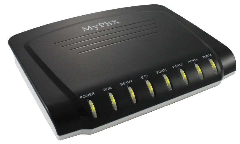 Yeastar MyPBX SOHO - 32 uživatelů, až 4 porty pro FXS, FXO a BRI