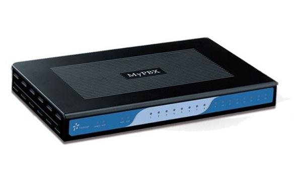 Yeastar MyPBX Standard - 100 uživatelů, 22 hovorů , až 16 portů pro FXS, GSM, FXO a BRI