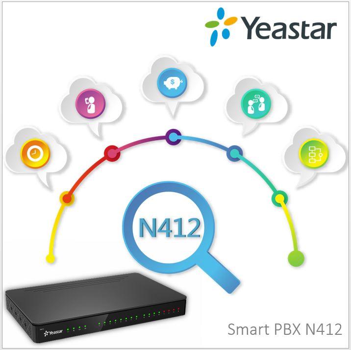 Yeastar Smart PBX N412 - novinka v analogových ústřednách