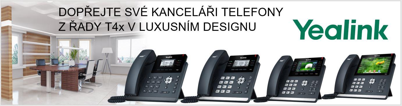 Stolní IP Telefony Yealink řady T4x