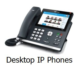 Desktop IP phones Yealink