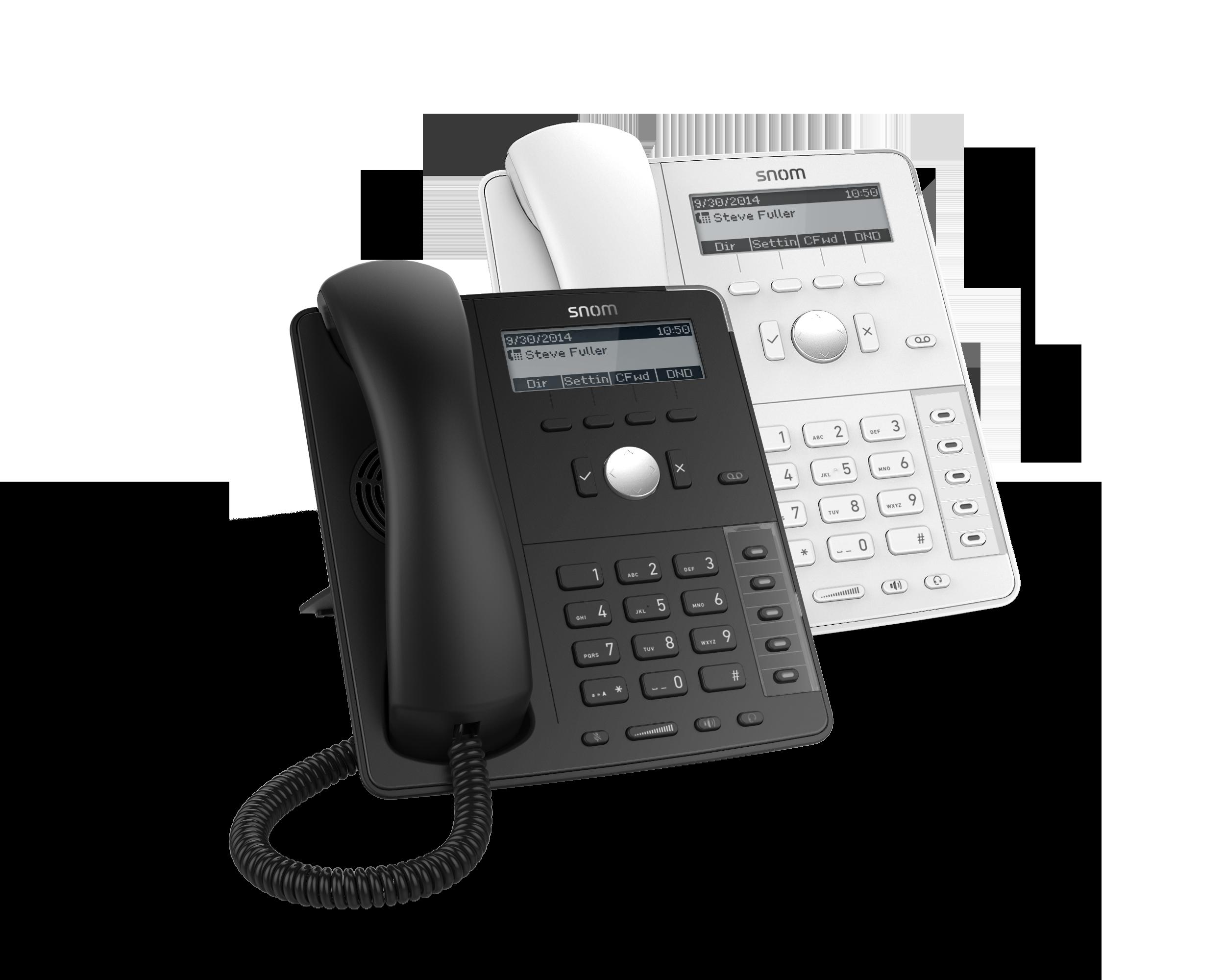 Stolní telefon Snom D715