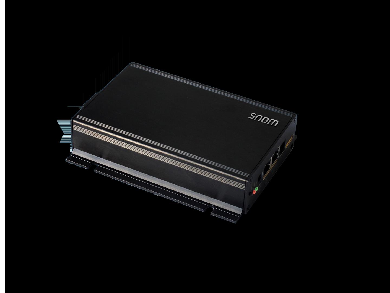 Snom PA1 SIP oznamovací systém, PoE, 4W zesilovač, 4 prog. výstupní piny