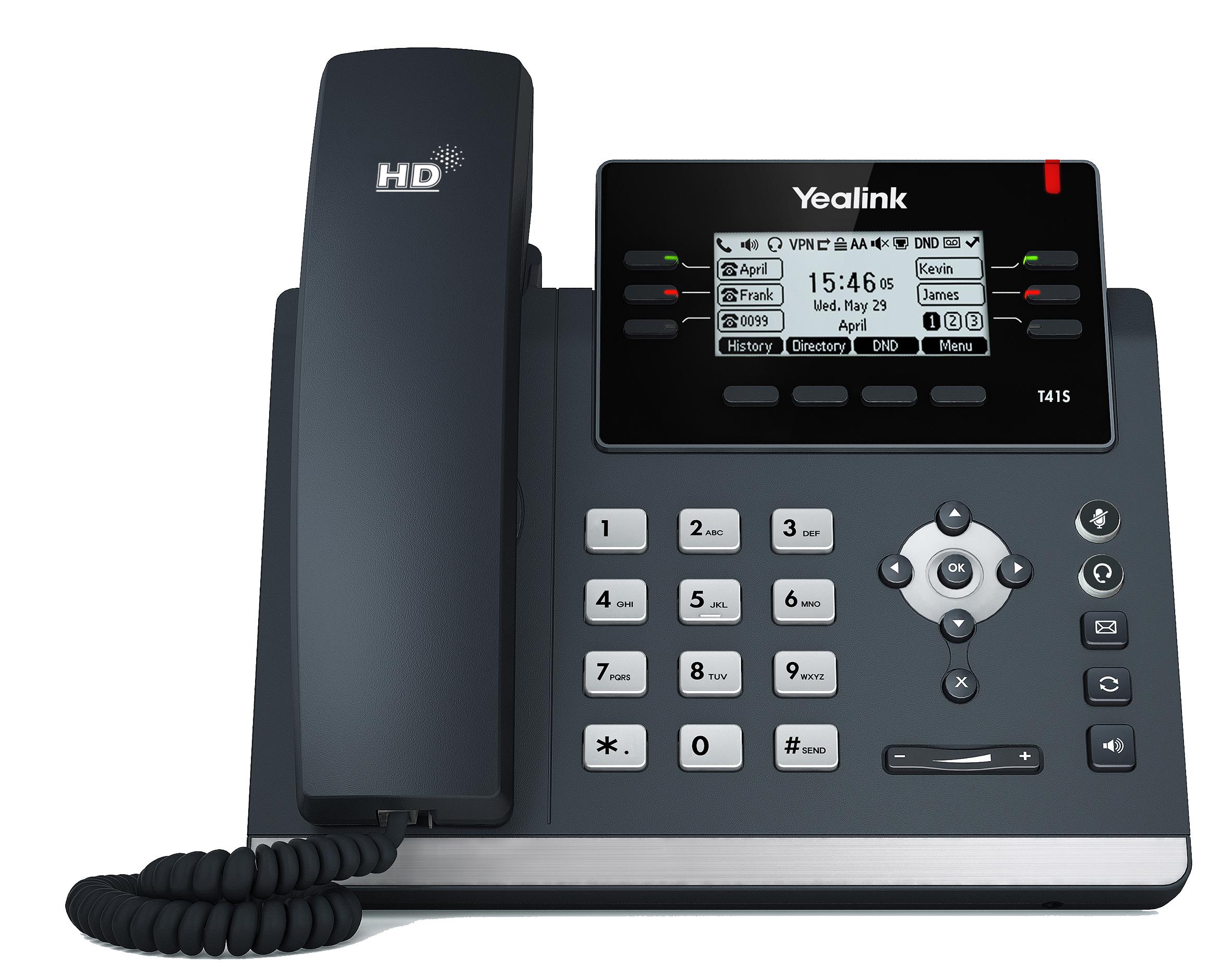 Manažerský telefon SIP-T41S