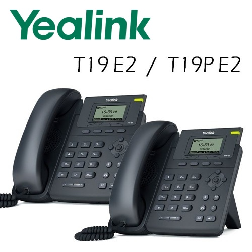 IP telefony Yealink SIP-T19