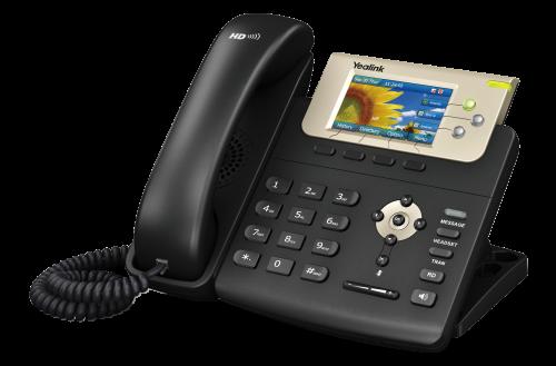 "Yealink SIP-T32G IP tel., PoE, 3"" bar. LCD, 3 prog.tl., GigE"