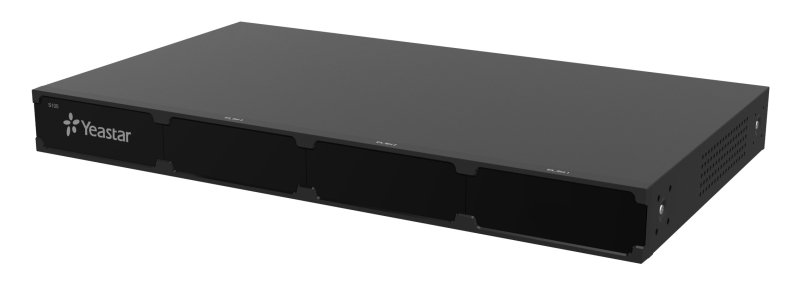 Yeastar S100, IP PBX, až 16 portů, 100 uživatelů, 30 hovorů, rack