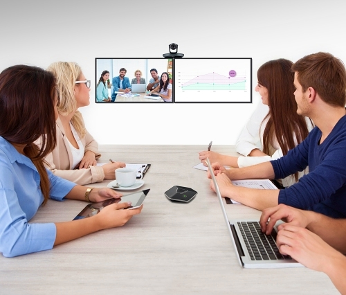 Videokonference Yealink je plynulá