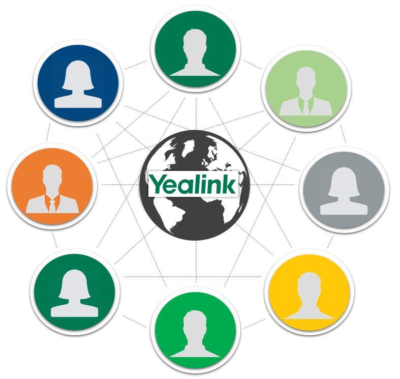 Yealink 8-cestná MCU licence