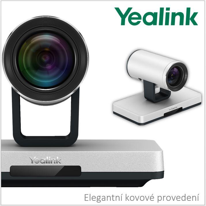 Yealink VC120-12x pro více jednoduchosti do komunikace po síti