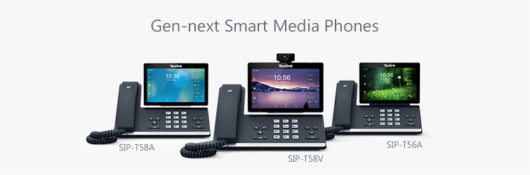 Yealink telefony řady T5x