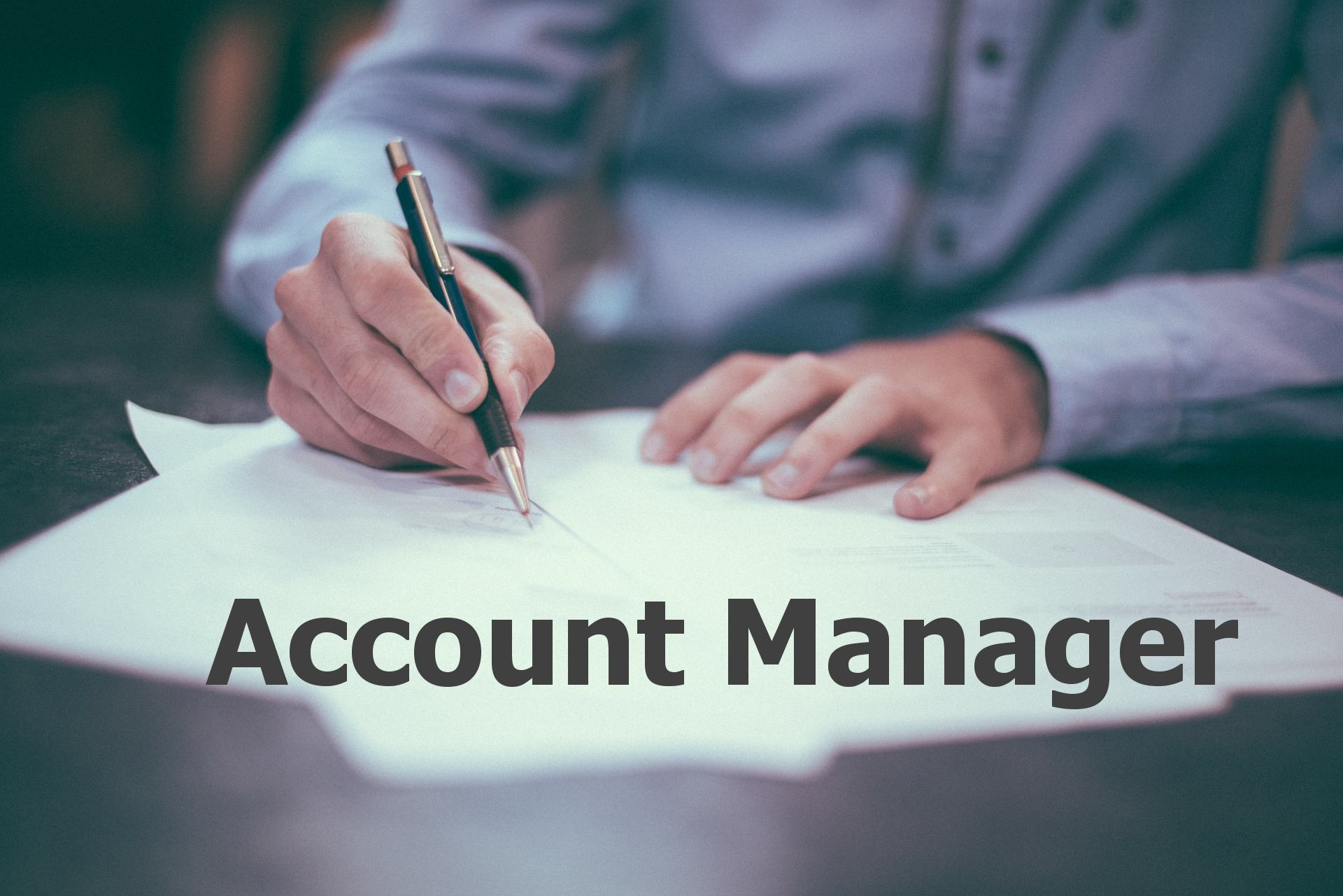 Account manager wanted