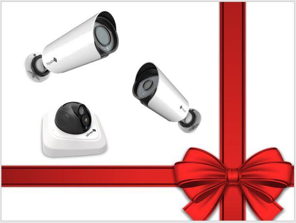 Akční vánoční nabídka kamerového balíčku pro ochranu vašeho majetku