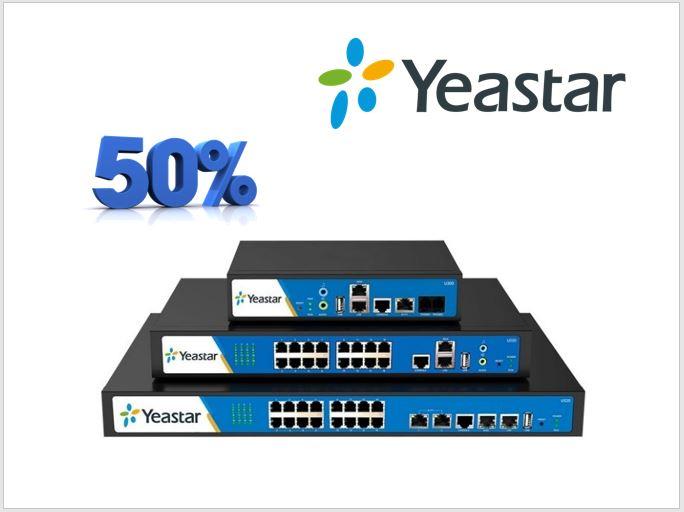 Poslední kusy ústředen Yeastar MyPBX skladem o 50% výhodněji!