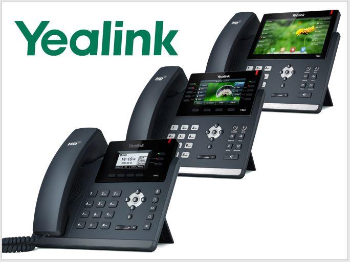 Uvádíme nové modely Yealink telefonů řady T4x