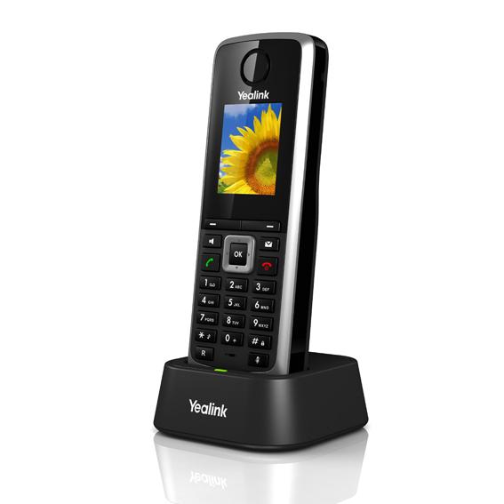 "Yealink W52H IP DECT ručka pro W52P, 1,8"" bar. LCD, 4 prog. tl."