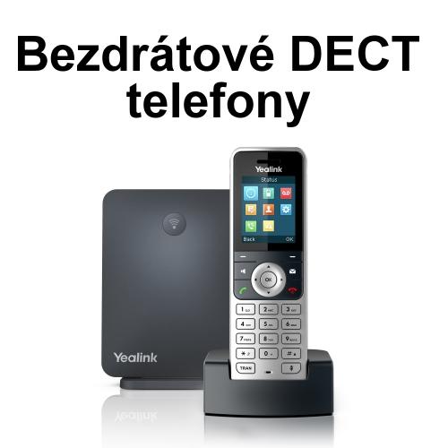 bezdrátové DECT telefony