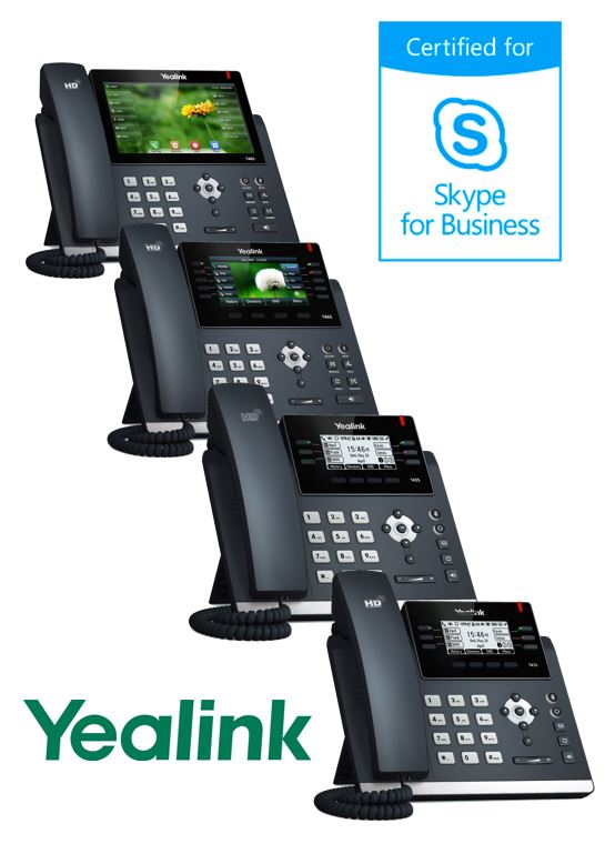 Skype for Business telefony T4x