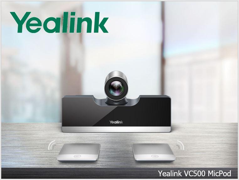 Nový videokonferenční endpoint Yealink VC500