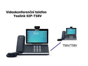 Videokonferenční telefon Yealink T58V