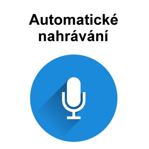 automatické nahrávání