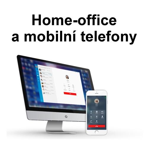 home-office a mobilní telefony