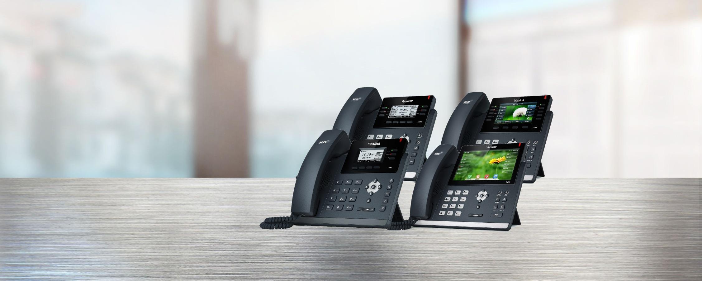 yealink telefony T4x