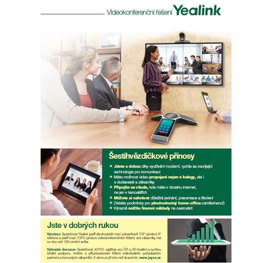 Leták videokonference Yealink