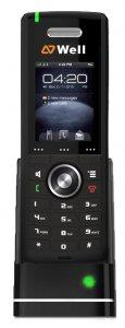 """WELL RTX8630 IP DECT ručka, 2"""" TFT LCD, 3 navigační tl."""