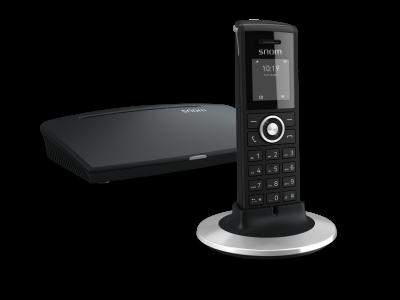 "SNOM M325 IP DECT báze+ručka, 1,44"" LCD, až 20 ruček"
