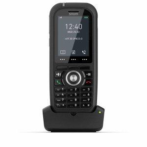 "SNOM M70, IP DECT ručka, černá, pro M900 a M700, 2"" bar. LCD, 8. tl. rychlé volby"