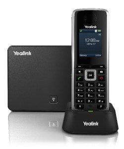 """Yealink W52P IP DECT báze+ručka, PoE, 1,8"""" bar. LCD,až 5 ruček"""