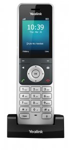 "Yealink W56H IP DECT ručka pro W52P/W56P/W60P, 2,4"" bar.disp.,USB"