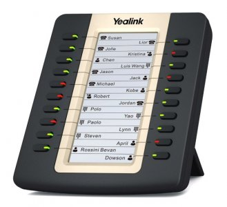 Yealink EXP20 exp. modul s LCD, 20 tl., k tel. T27/T29G