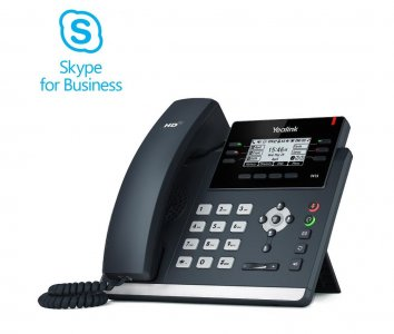 "Yealink T42S IP tel., PoE, 2,7"" 192x64 LCD, 15 prog.tl., GigE, Skype for Business"