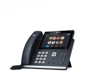 """Yealink T48S IP tel., PoE, 7"""" bar.LCD, 29 prog.tl., GigE, Skype for Business"""